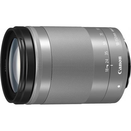 Canon EF-M 18-150мм f/3.5-6.3 IS STM объектив, серебристый
