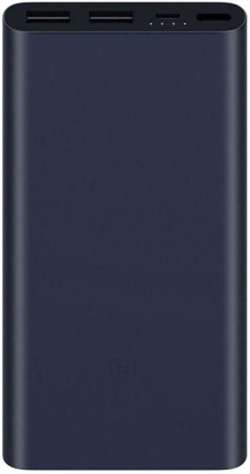 Xiaomi Mi akupank 2S 2.4A 2xUSB 10000mAh, must
