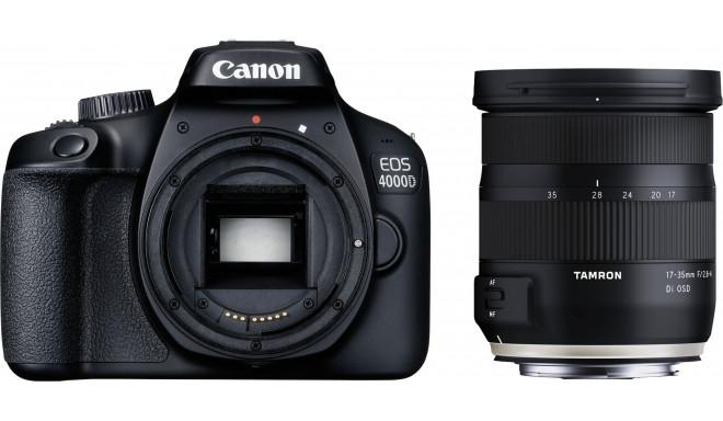 Canon EOS 4000D + Tamron 17-35mm OSD