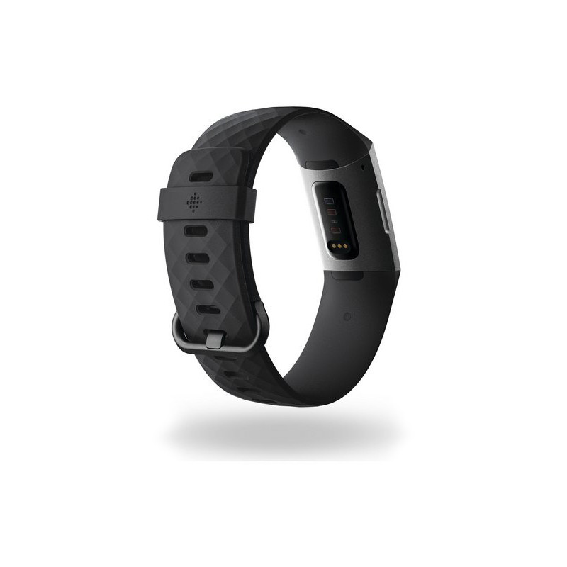 Fitbit aktiivsusmonitor Charge 3, grafiit/must