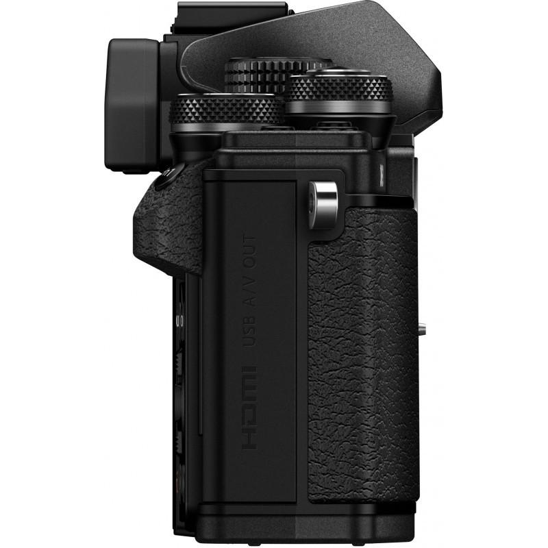 Olympus OM-D E-M10 Mark II + 14-42mm EZ + 40-150mm Kit, black