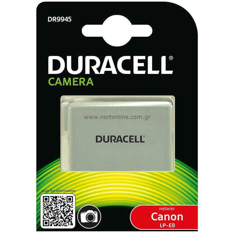 Duracell battery Canon LP-E8 1020mAh
