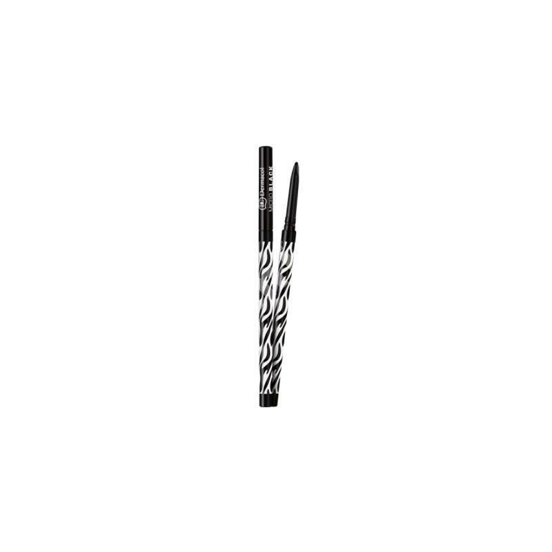 Dermacol Black Sensation Eye Micro Pencil (2ml) (Black)
