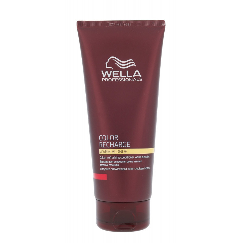 2a609e8e5aed5 Wella Color Recharge Warm Blonde (200ml) - Balsams - Photopoint