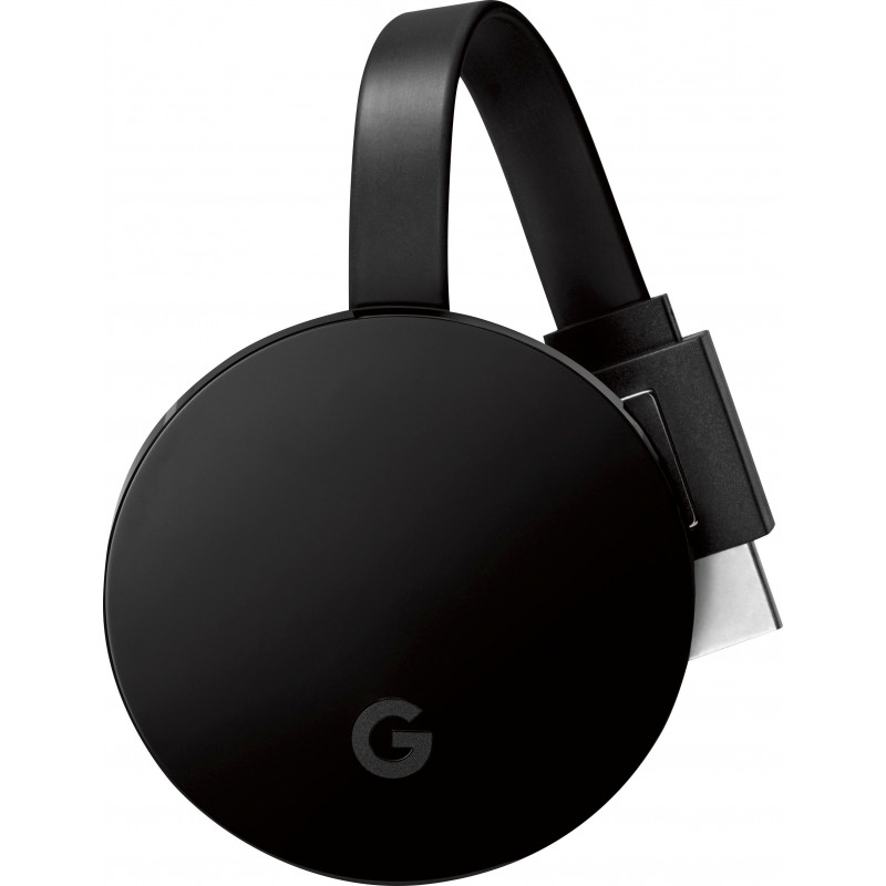 Google Chromecast Ultra 4K, black