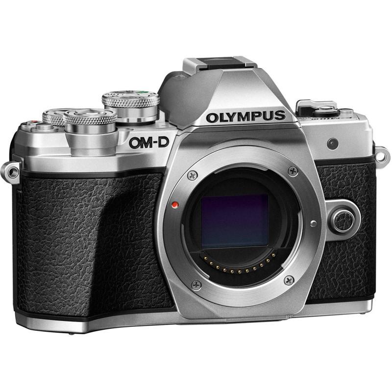 Olympus OM-D E-M10 Mark III + 14-150mm II Kit, hõbedane