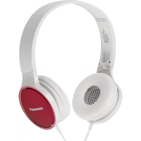 Panasonic austiņas ar mikrofonu RP-HF300ME-P, rozā