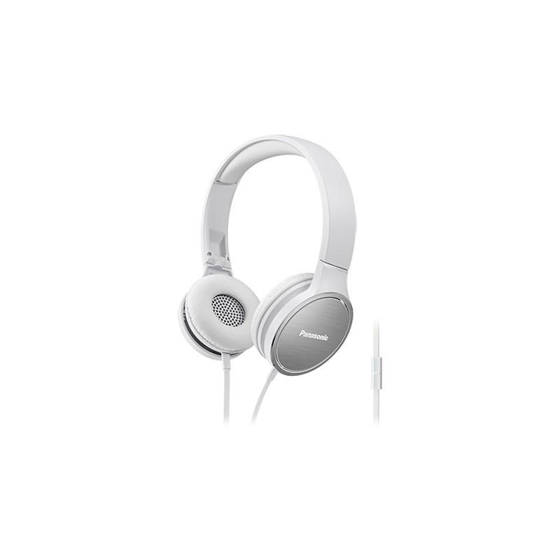 Panasonic kõrvaklapid + mikrofon RP-HF500ME-W, valge