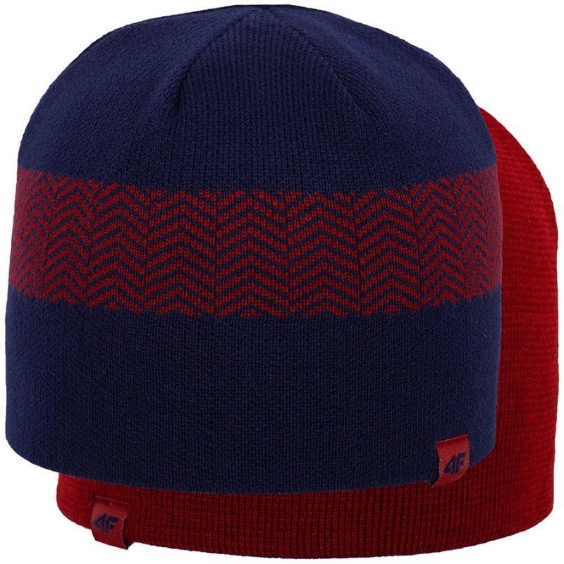 Men s winter hat 4f H4Z18 M-CAM006 Dark Blue - Hats - Photopoint 1ec8341364e7