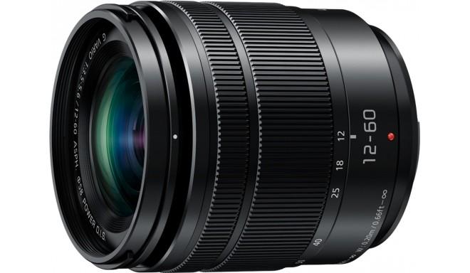 Panasonic Lumix G Vario 12-60mm f/3.5-5.6 Power O.I.S. objektiiv, must