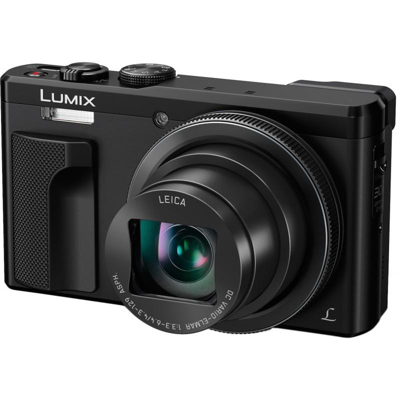 Panasonic Lumix DMC-TZ80, must + lisaaku