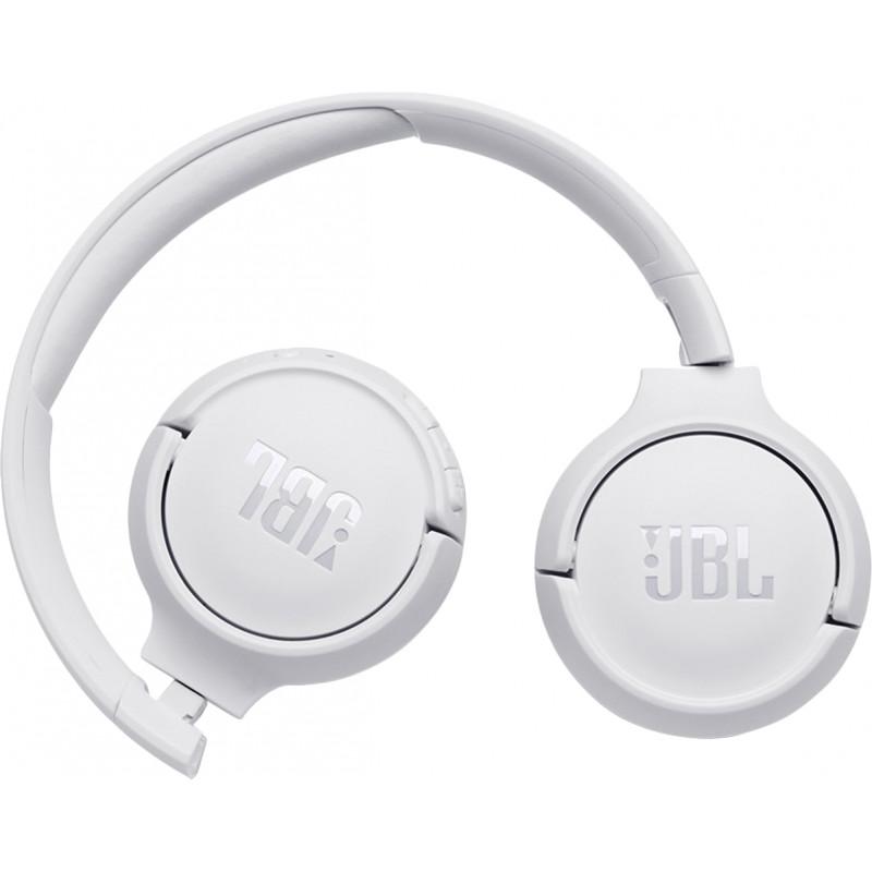 JBL juhtmevabad kõrvaklapid + mikrofon Tune 500BT, valge