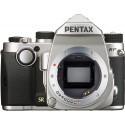 Pentax KP body, silver