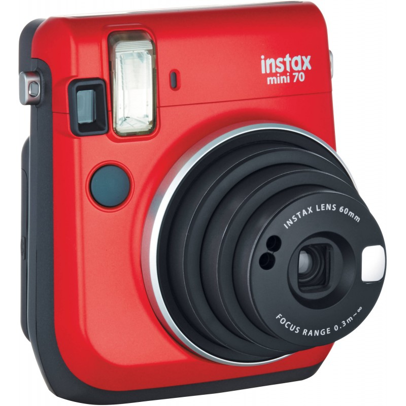 Fujifilm instax mini 70 red instant cameras photopoint for Housse instax mini 70