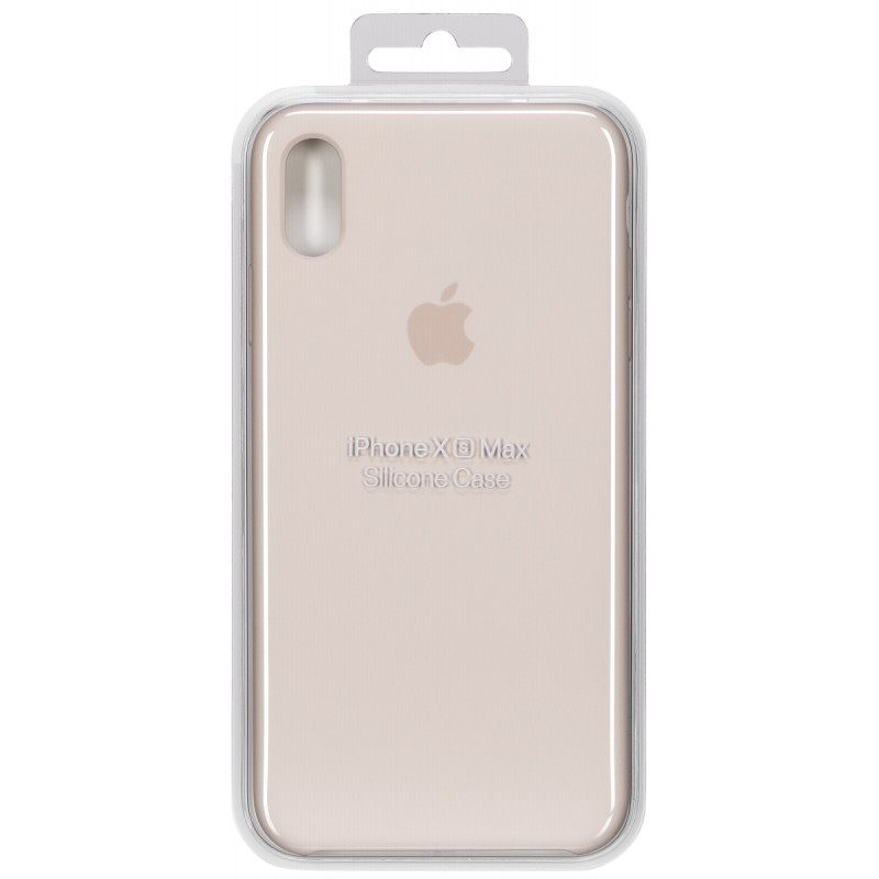 newest 2fc22 4f713 Apple iPhone XS Max Silicone Case Pink Sand