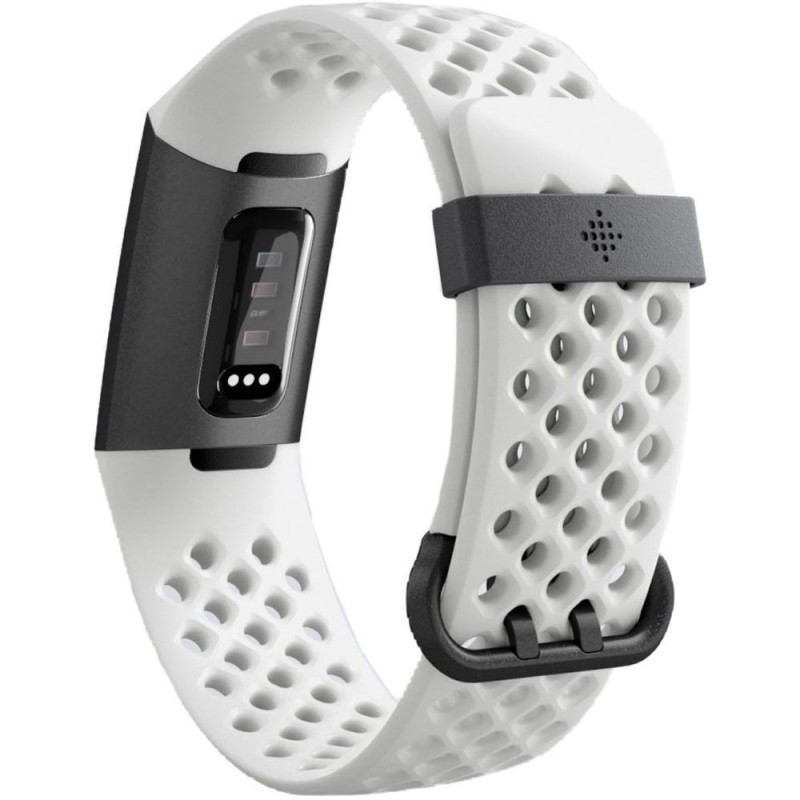 Fitbit activity tracker Charge 3, graphite/frost white