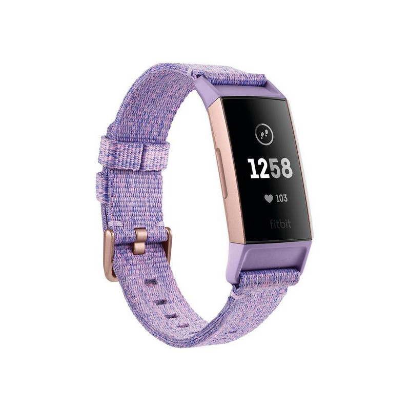 Fitbit activity tracker Charge 3 Special Edition, lavender/rose gold