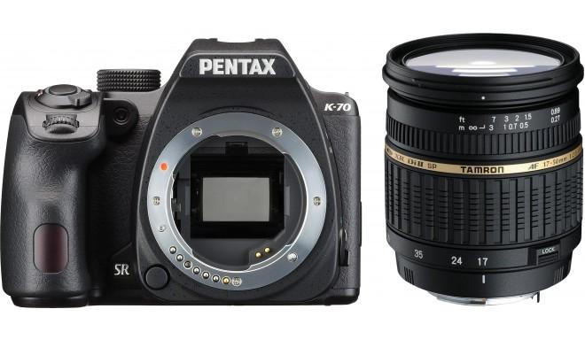 Pentax K-70 + Tamron 17-50 f/2.8