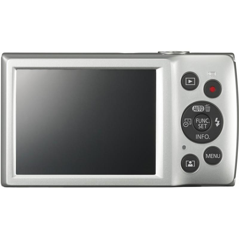 Canon Digital Ixus 185, hõbedane