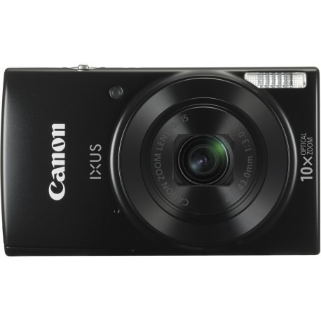 Canon Digital Ixus 190, melns