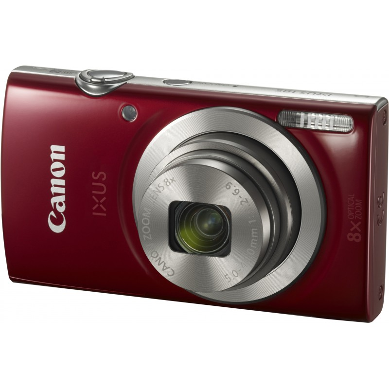 Canon Digital Ixus 185, red