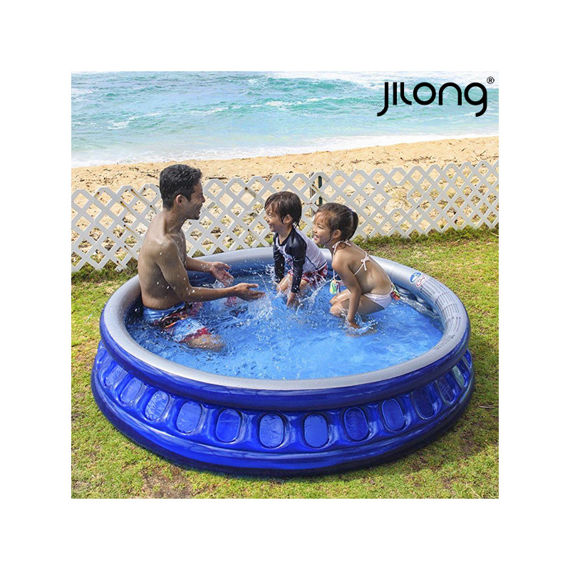 a8fc3628c5c Täispuhutav lastebassein Jilong 10271 10271 450 L (175 x 35 cm) Sinine