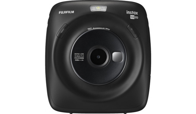 Fujifilm Instax Square SQ20, черный