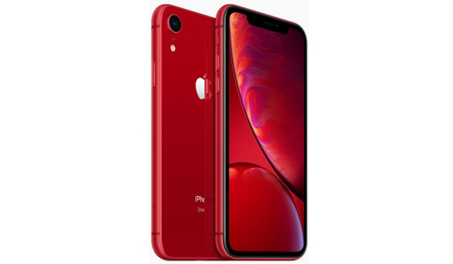 Apple iPhone XR 128GB, sarkans