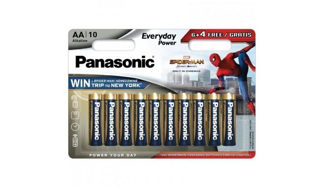 Panasonic Everyday Power baterija LR6EPS/10BW (6+4) S-M