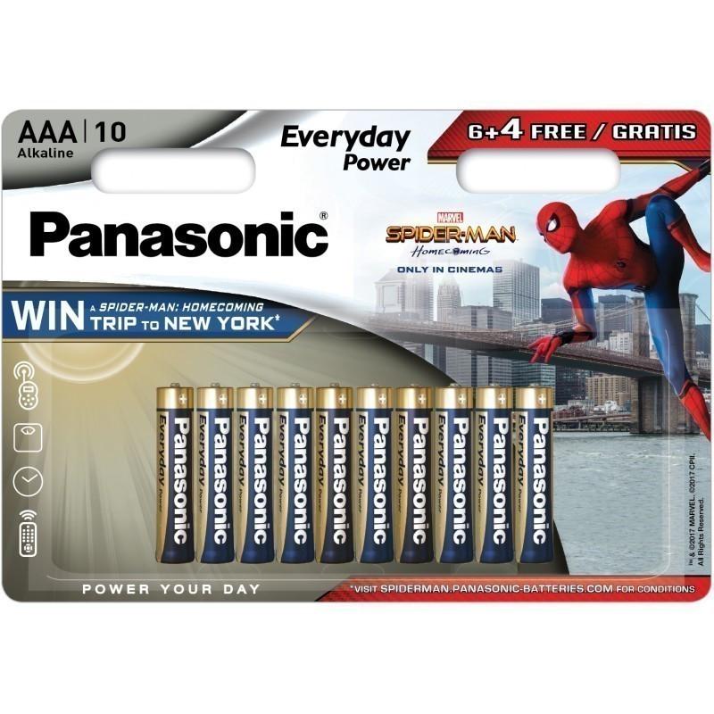 Panasonic Everyday Power baterija LR03EPS/10BW (6+4) S-M