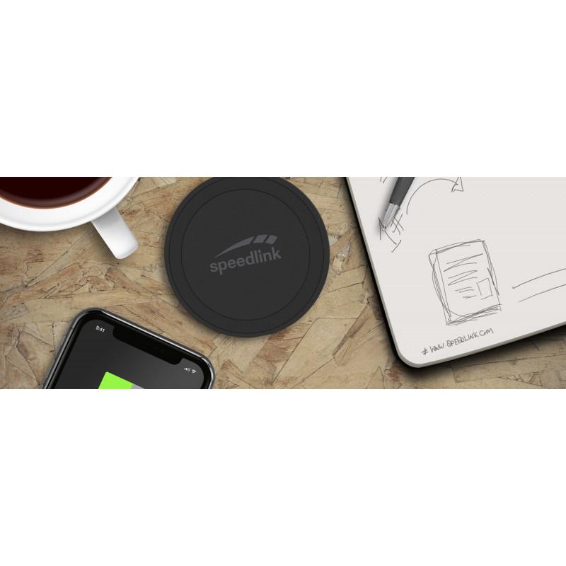 Speedlink wireless charger Puck 5, black (SL-690402-BK)