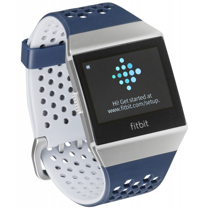 espiral Premisa asistencia  Fitbit Ionic Adidas Edition ink blue/grey - Smartwatches - Photopoint