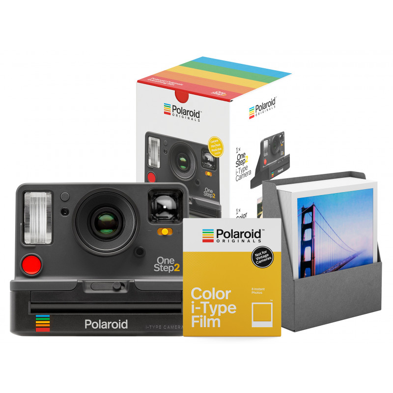 Polaroid OneStep 2 VF Everything Box, серый