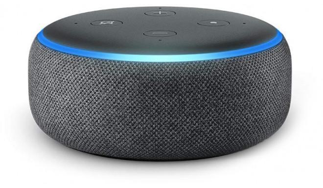 Amazon Echo Dot 3, antracīta krāsā