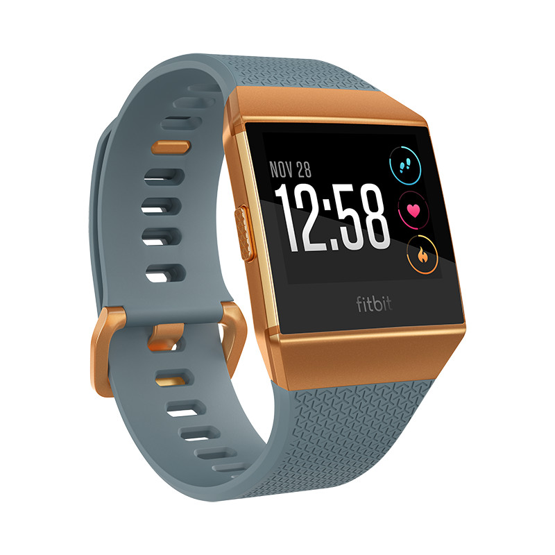 Fitbit Ionic, slate blue/burnt orange
