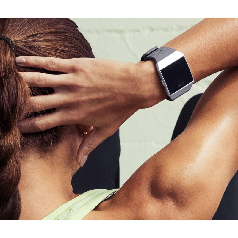 Fitbit Ionic, sinakashall/valge