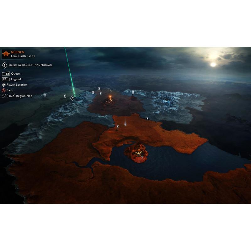 Console Microsoft Xbox One S 500 GB + Shadow Of War bundle (HDD 500 GB)