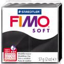 Staedtler modelling clay Fimo Soft, black