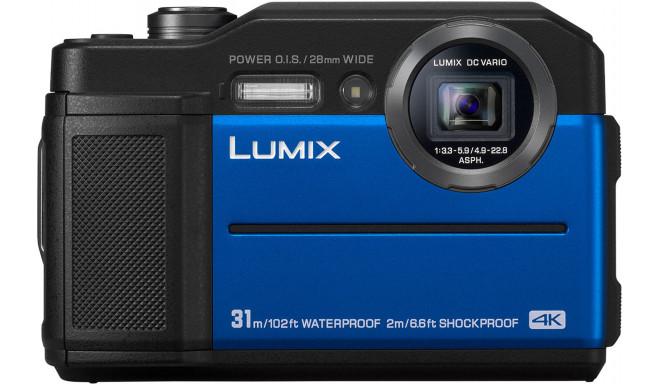 Panasonic Lumix DC-FT7, blue