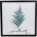 Nature canvas print Positivity