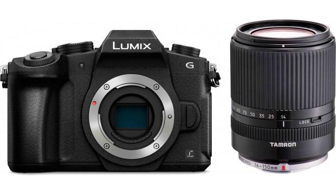 Panasonic Lumix DMC-G80 + Tamron 14-150mm, must