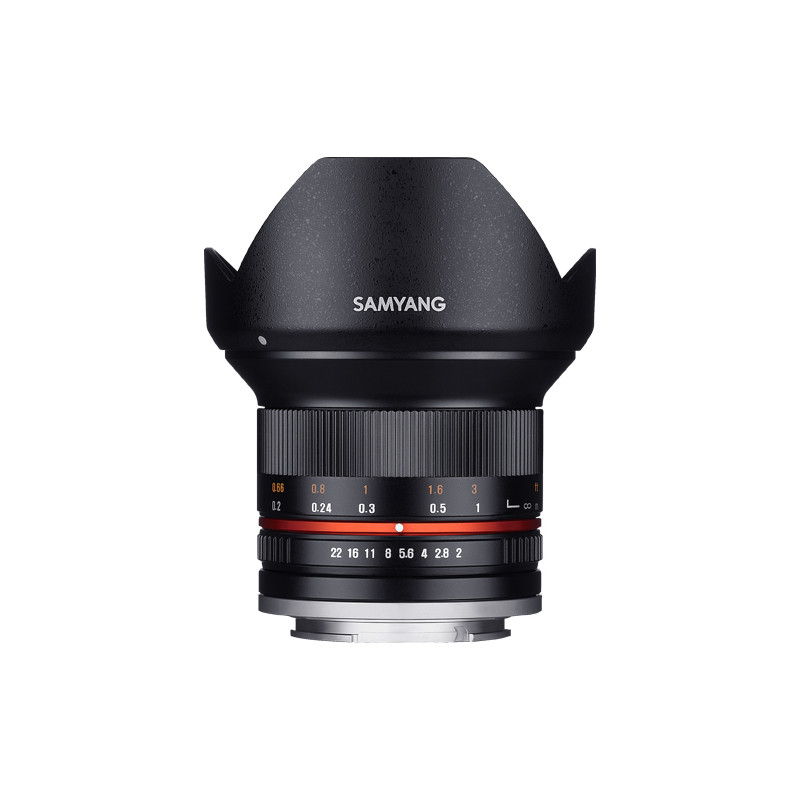 Samyang 12mm f/2.0 NCS CS objektiiv Sonyle