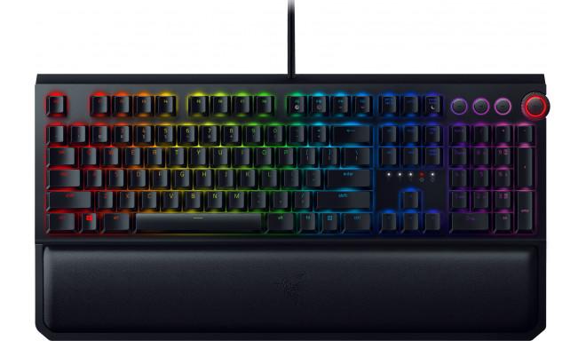 Razer klaviatūra Blackwidow Elite RU Green Switches