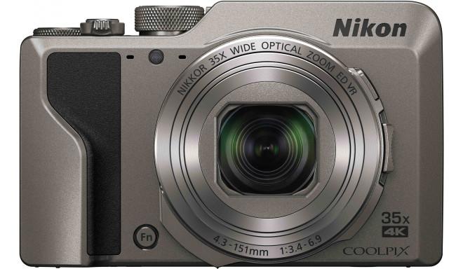 Nikon Coolpix A1000, hõbedane