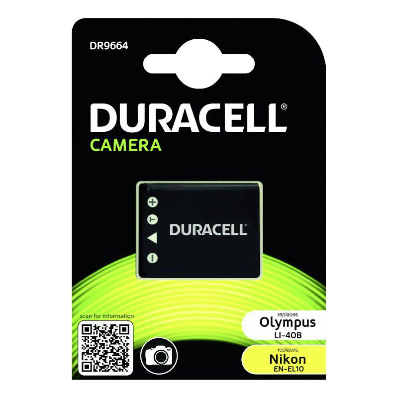 Duracell battery Olympus Li-40B/Nikon EN-EL10 700mAh
