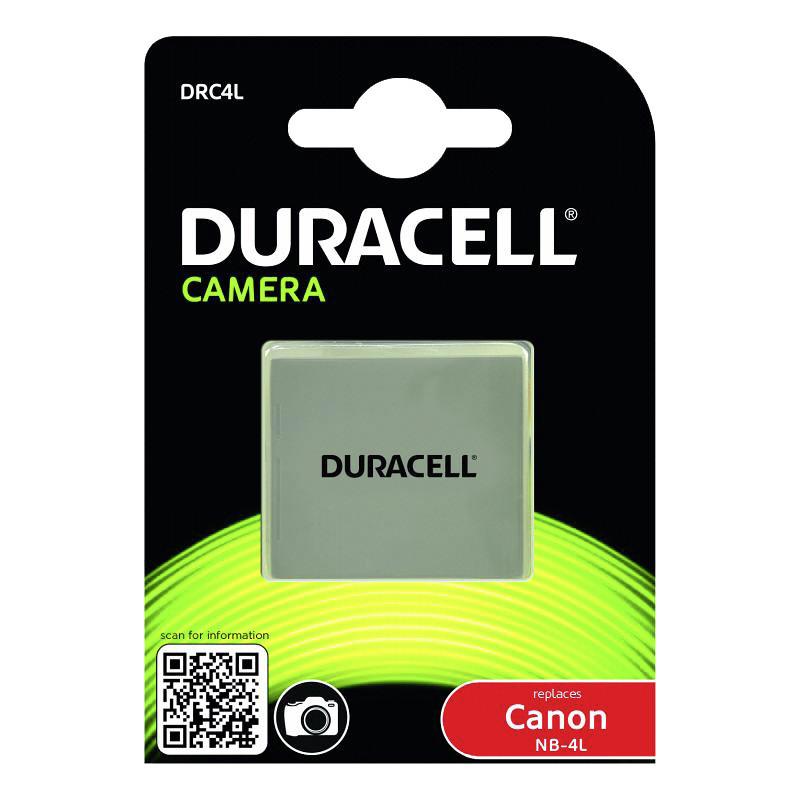 Duracell battery Canon NB-4L 720mAh