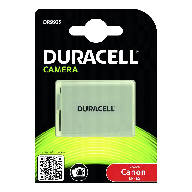 Duracell battery Canon LP-E5 1020mAh
