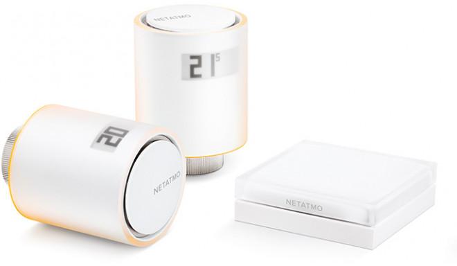 Netatmo viedie radiatoru termostati Smart Radiator Valves Starter Pack