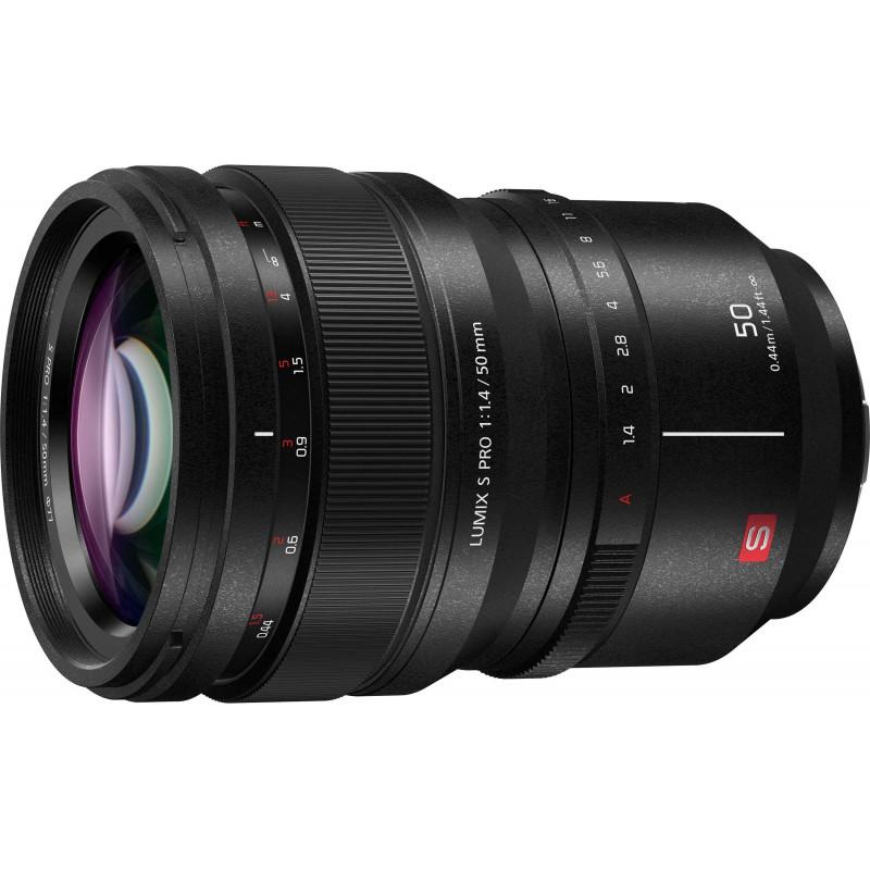 Panasonic Lumix S PRO 50mm f/1.4 objektiiv