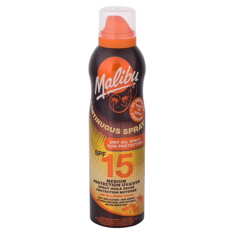 Malibu Continuous Spray Dry Oil SPF15 (175ml)